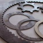 CTR MicroStep MSF fibre laser metal cut sample - gearing