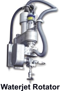 CTR MicroStep Accessories - Waterjet Rotator