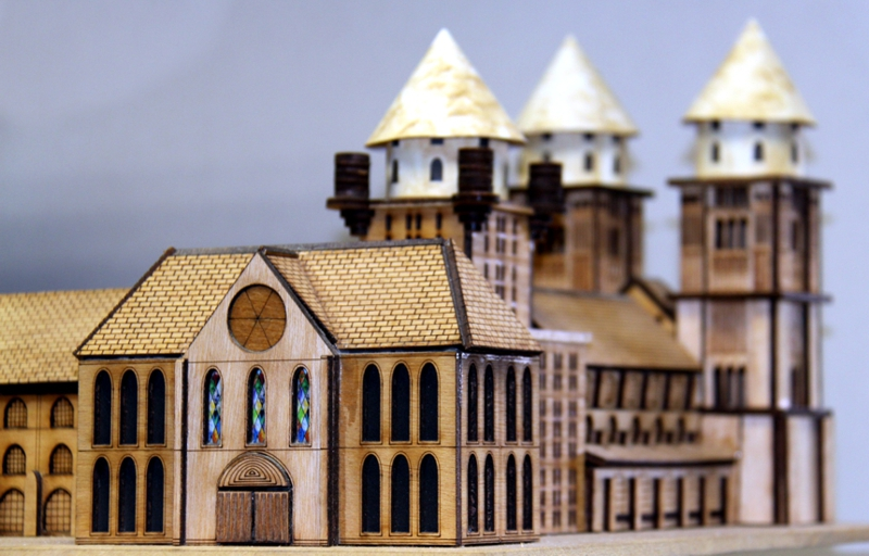 Laser Cutting and Engraving Examples of modelmaking
