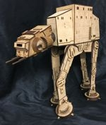 ATAT Star Wars free laser cut design files from CTR