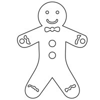 Gingerbread Man design file