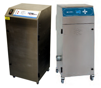 CTR Fume filtration systems for laser machines