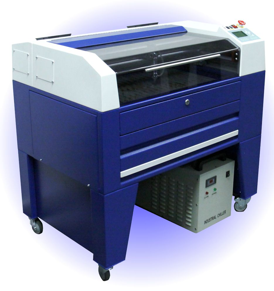 TMX65 laser machine British design and manufacture CO2 laser